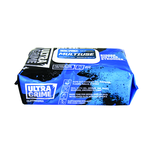 Uniwipe Ultra Grime Wipes (100 Pack) 5900
