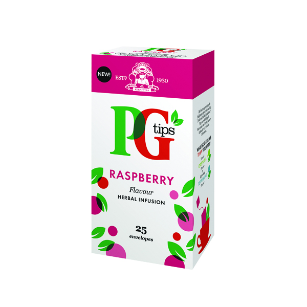 Tea PG Tips Raspberry Envelope Tea Bags (25 Pack) 49228801