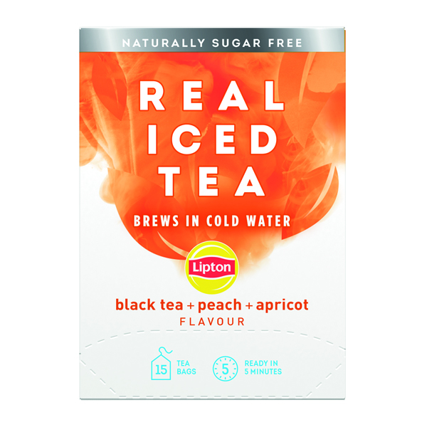 Lipton Cold Brew Black Tea Peach (15 Pack) 67737978