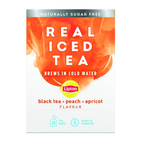 Cold Drinks Lipton Cold Brew Black Tea Peach (15 Pack) 67737978