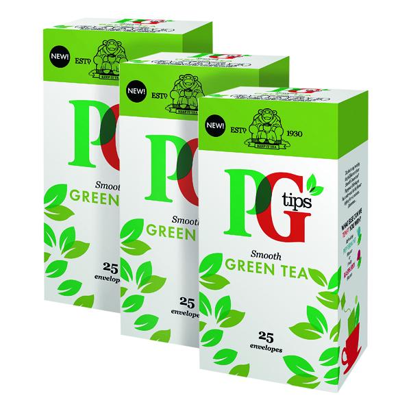 Tea PG Tips Green Tea Envelope (25 Pack) 3For2 VF819647