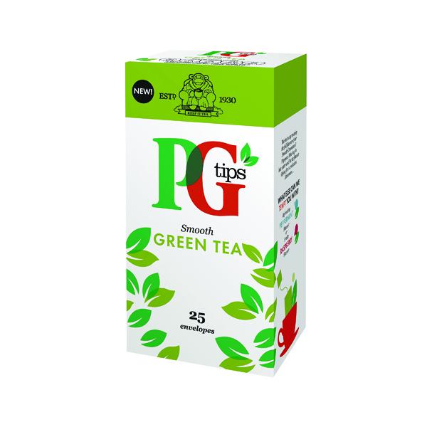 Tea PG Tips Green Tea Envelope (25 Pack) 29013901