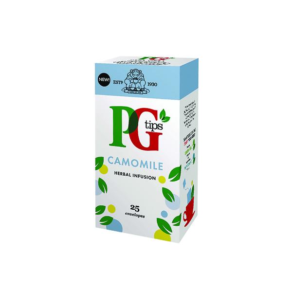 Tea PG Tips Camomile Envelope Tea Bags (25 Pack) 49095901