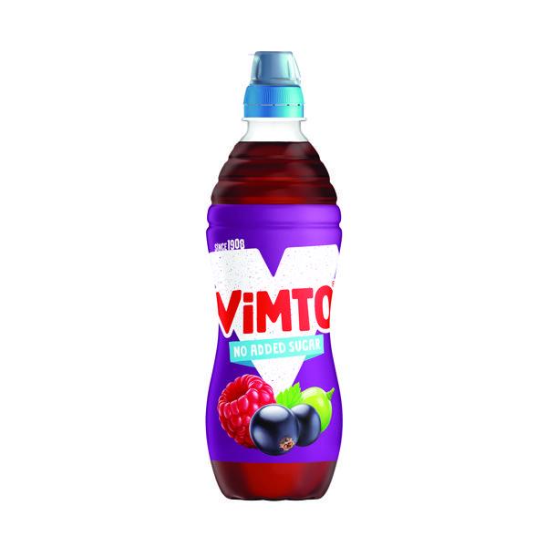 Vimto 500ml No Added Sugar Sportscap (12 Pack) 1176