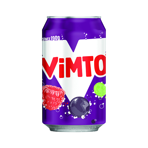 Cold Drinks Vimto 300ml Can (24 Pack) 2000