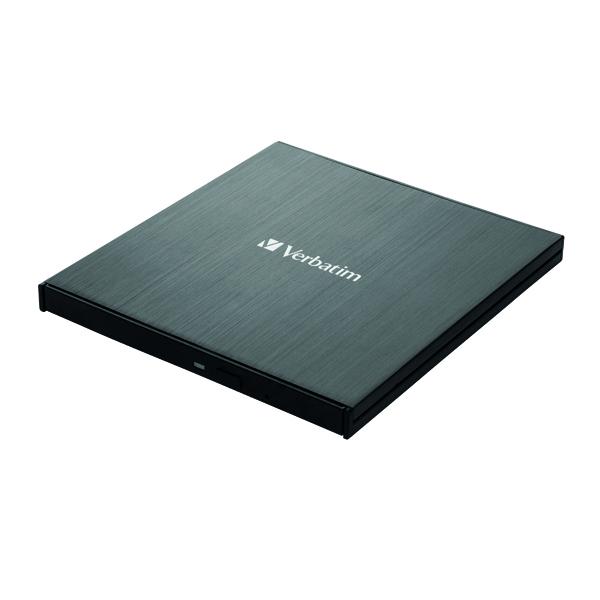 Blu Ray Verbatim External Slimline Blu-ray Writer Type-C 43889