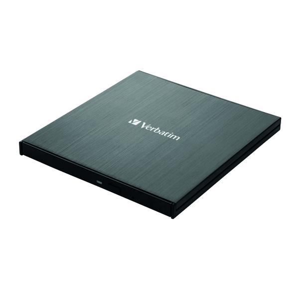 CD Verbatim Black Mobile Blu-Ray Rewriter USB 3.0 43890