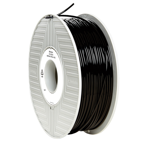 Verbatim ABS 3D Printing Black Filament 2.85mm 1kg Reel 55018