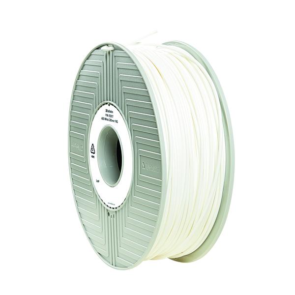 3D Printing Verbatim 3D Printer Filament ABS 2.85mm 1kg White 55034