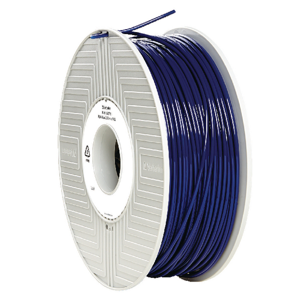 Verbatim PLA 3D Printing Blue Filament 2.85mm 1kg Reel 55278