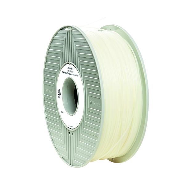 3D Printing Verbatim 3D Printer Filament PLA 1.75mm 1kg Clear 55317