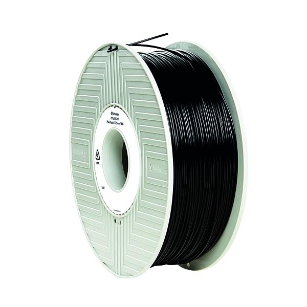 3D Printing Verbatim 3D Printer Filament PLA 1.75mm 1kg Black 55318