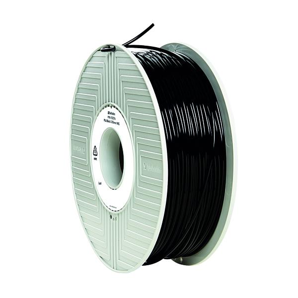 3D Printing Verbatim 3D Printer Filament PLA 2.85mm 1kg Black 55327