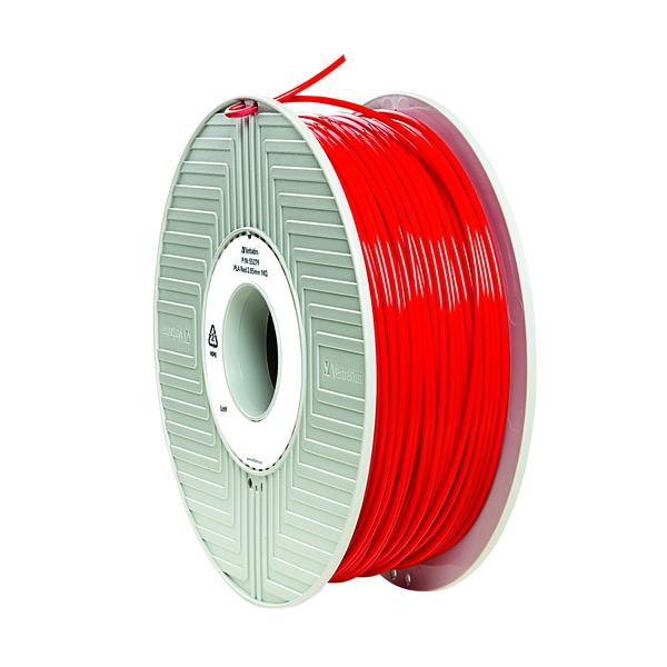 3D Printing Verbatim 3D Printer Filament PLA 2.85mm 1kg Red 55330