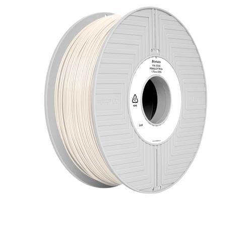Verbatim Primalloy 3D Printing Filament 1.75mm 500g Reel White 55500