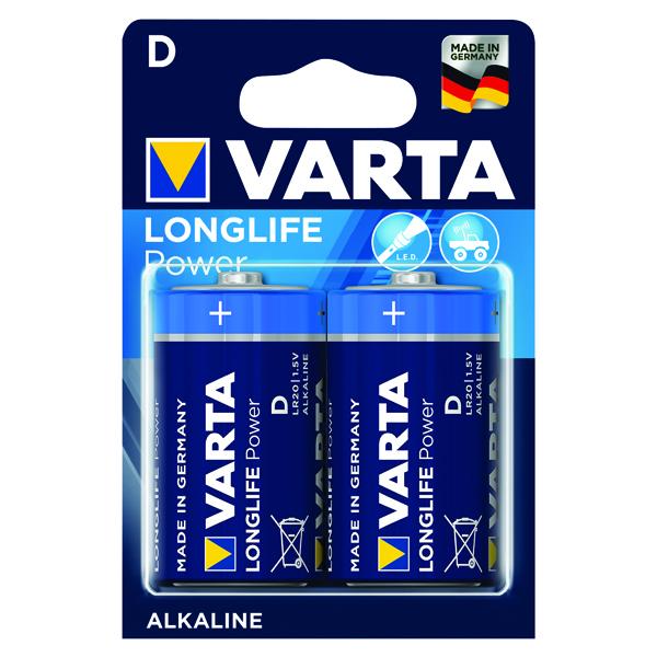 Varta D High Energy Battery Alkaline (2 Pack) 4920121412