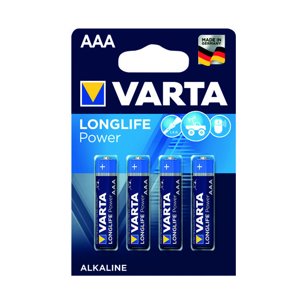 Varta AAA High Energy Battery Alkaline (4 Pack) 4903620414