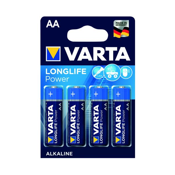 Varta AA High Energy Battery Alkaline (4 Pack) 4906620414