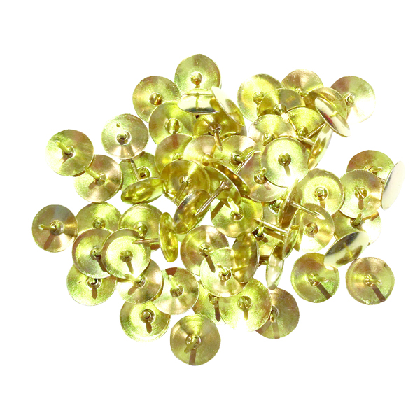 Brass Drawing Pins 11mm (1000 Pack) 34241