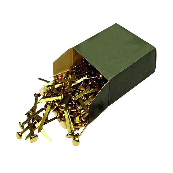 Brass Paper Fastener 20mm (200 Pack) 36631