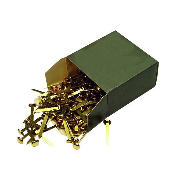 Brass Paper Fastener 40mm (200 Pack) 36671