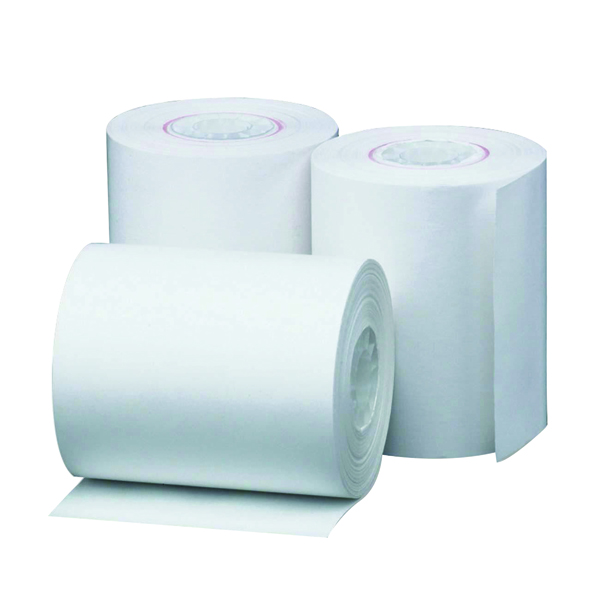 57mm White Thermal Till Roll 57x38x12mm (20 Pack) THM573812