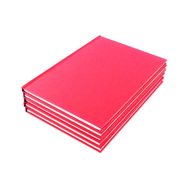 A4 Ruled Feint Manuscript Book (5 Pack) WX01060