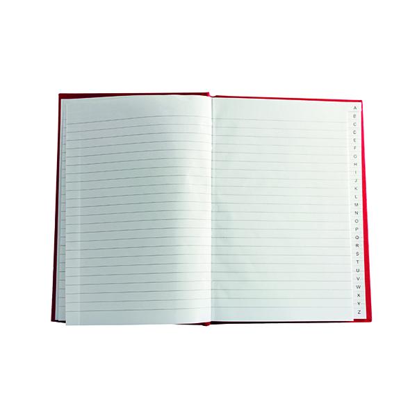 Index Casebound A5 Index Book (10 Pack) WX01064
