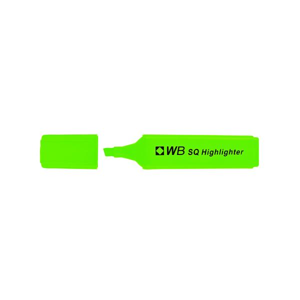Green Hi-Glo Highlighter (10 Pack) 844004