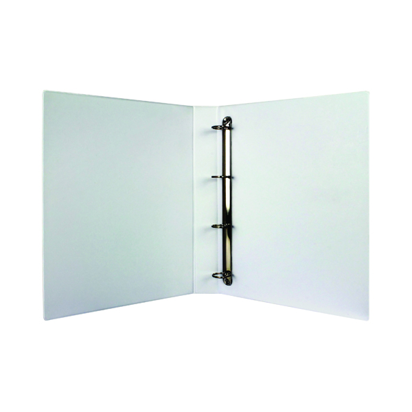 White 25mm 4D Presentation Binder (10 Pack) WX01325