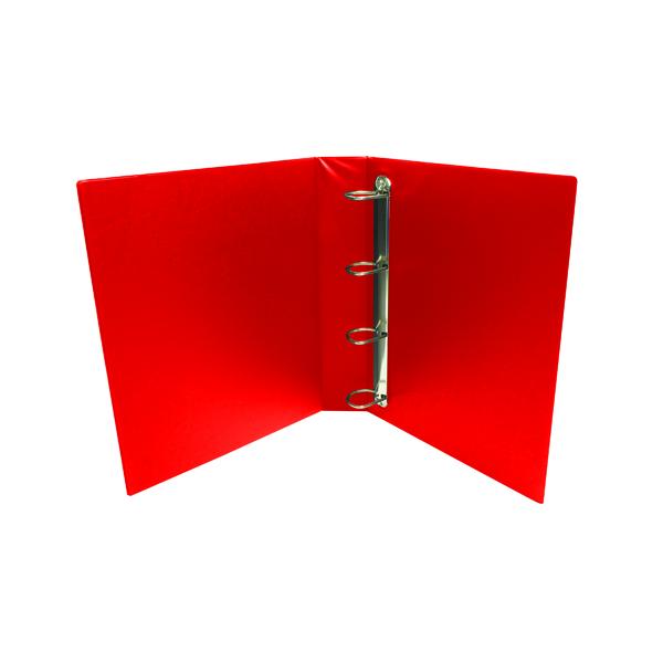 Red 25mm 4D Presentation Binder (10 Pack) WX01326
