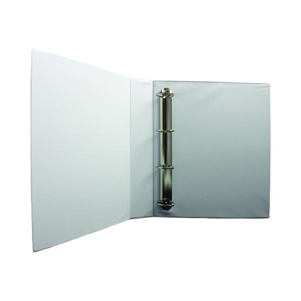 40mm White 40mm 4D Presentation Binder (10 Pack) WX01329