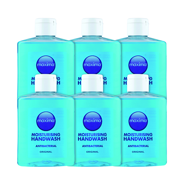 Floor Cleaning Antibacterial Soap 250ml (6 Pack) 0604002