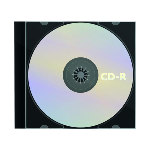 Blu Ray CD-R Slimline Jewel Case 80min 52x 700MB WX14157