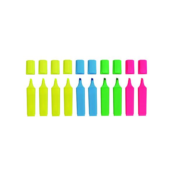Assorted Hi-Glo Highlighter (10 Pack) 8440PK10