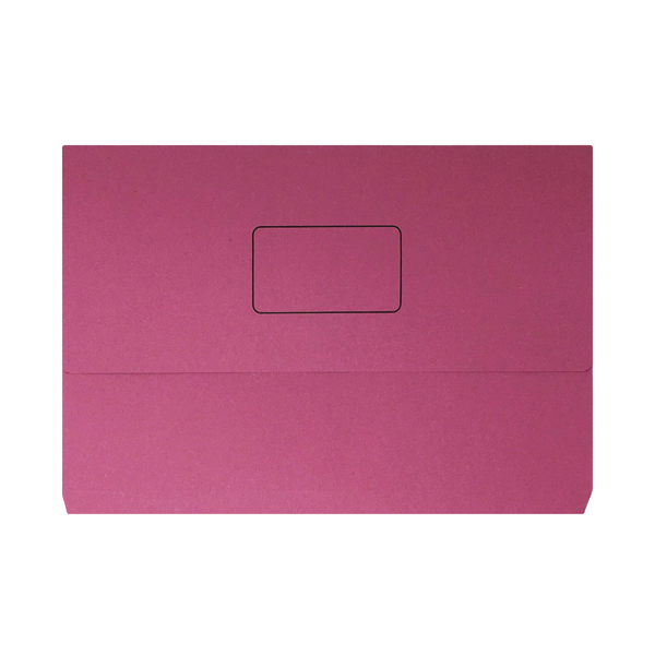 Pink Document Wallet (50 Pack) 45917EAST