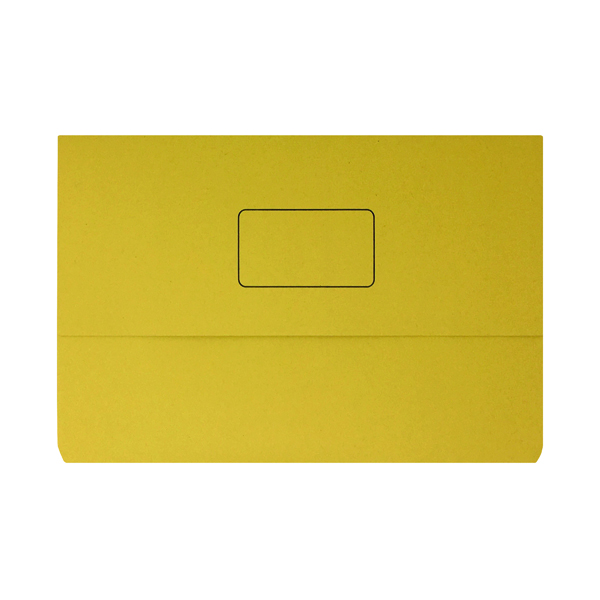 Yellow Document Wallet (50 Pack) 45919EAST