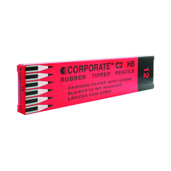 Contract Pencil Eraser Tipped (12 Pack) WX25011