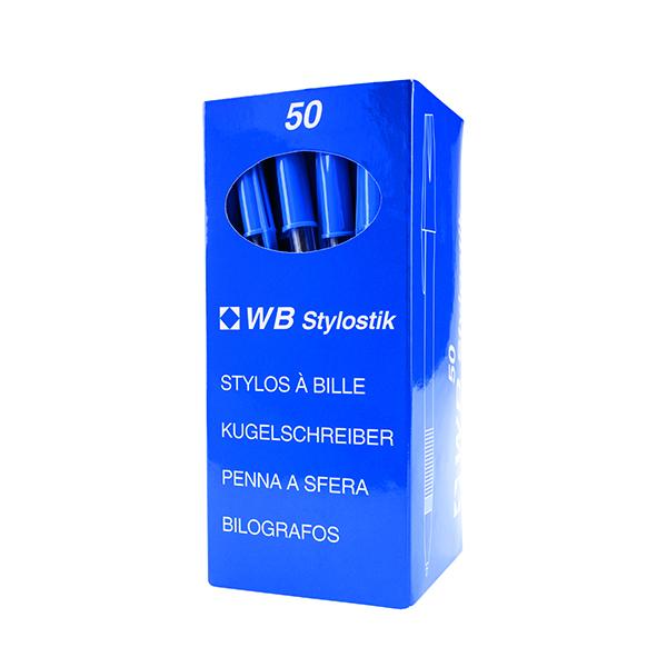 Blue Medium Ballpoint Pens (50 Pack) 893623