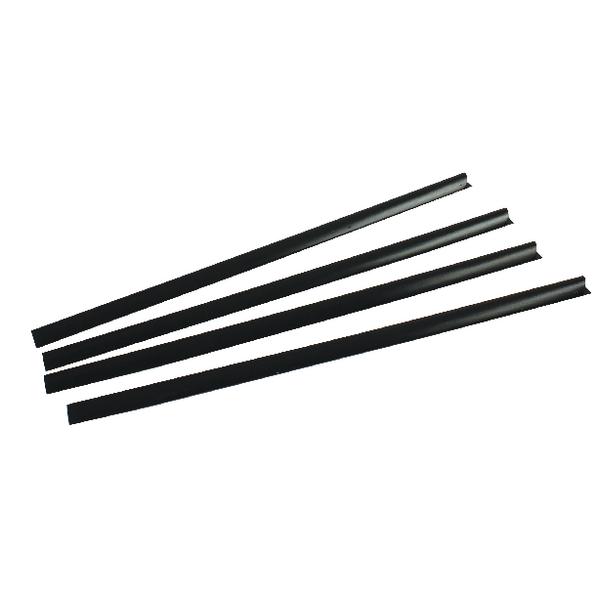 Slide Binder A4 6mm Black (100 Pack) WX29310
