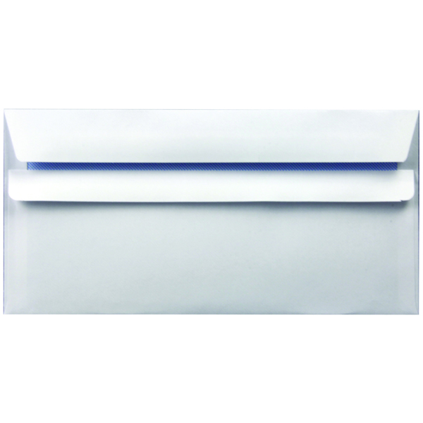 Self Seal White DL Envelope 90gsm (1000 Pack) WX3480