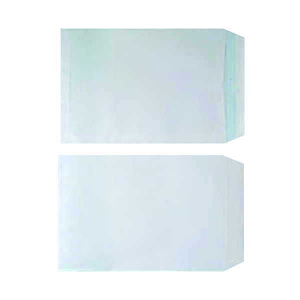 White Plain Plain White C4 Envelope Self Seal 90gsm White (250 Pack) WX3499