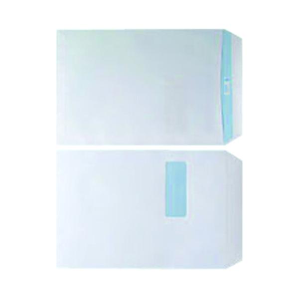 White Window C4 Window Envelope 90gsm White Self Seal (250 Pack) WX3501