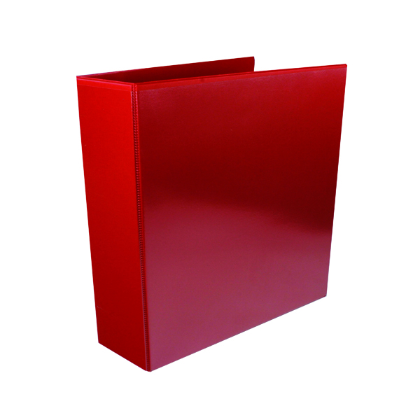 65mm Red 65mm 4D Presentation Ring Binder (10 Pack) WX70296