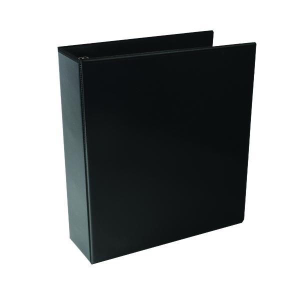 65mm Black 65mm 4D Presentation Ring Binder (10 Pack) WX70297