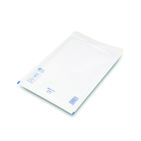 Bubble Lined Envelopes Size 7 230x340mm White (100 Pack) XKF71451