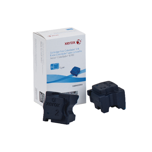 Unspecified Xerox ColorQube 8700 Cyan Ink Stick (2 Pack) 108R00995