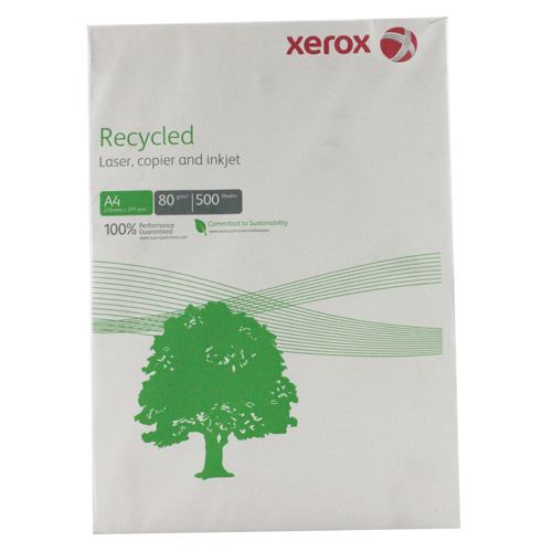 Xerox Recycled A4 Paper 80gsm White Ream (500 Pack) 003R91165