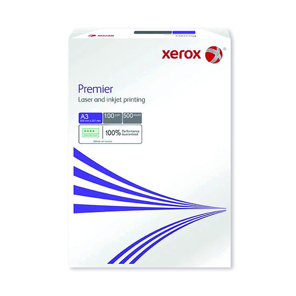Xerox A3 Premier Copier 100gsm White (500 Pack) 003R93609