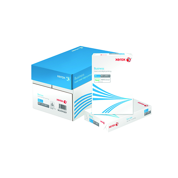 White 80gsm Xerox Business A3 White 80gsm Paper (500 Pack) 003R91821